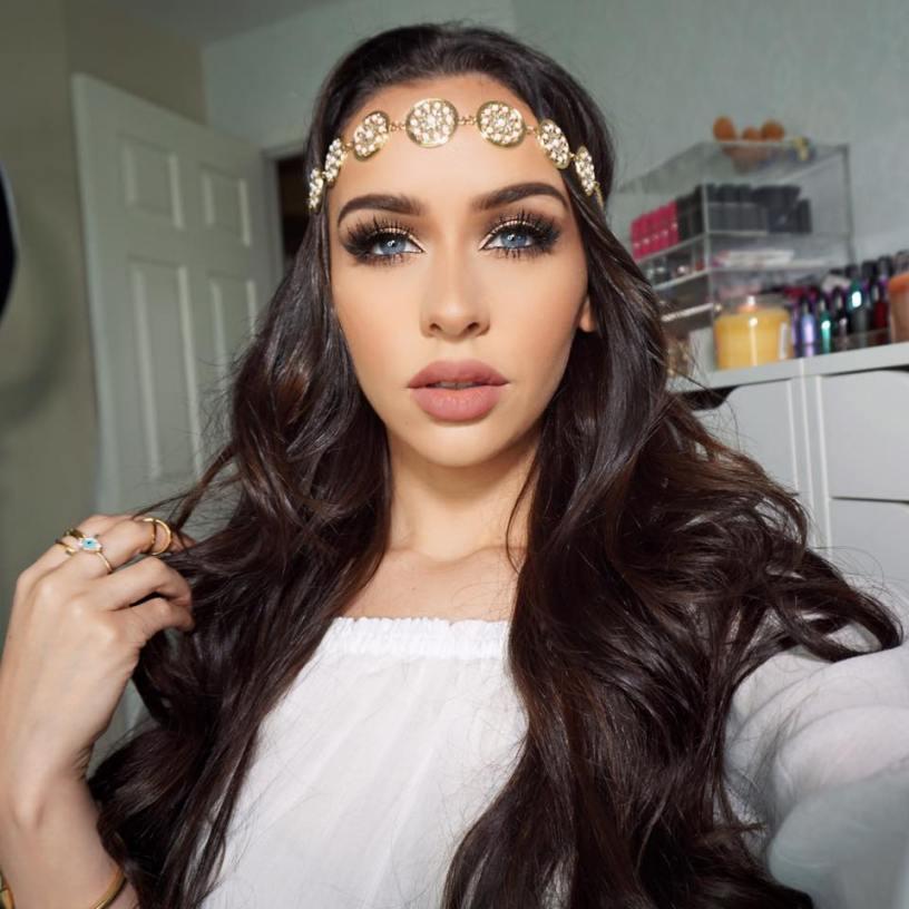 BOHO CHIC Makeup & Hair Tutorial | Carli Bybel