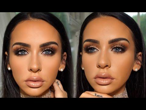 #Makeup Tutorial by Carli Bybel: Romantic Fall Date Night Makeup
