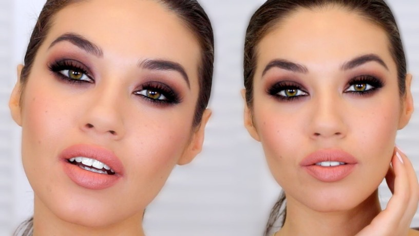 Makeup Tutorial By Eman Fall Brown Smokey Eye For The Holidays